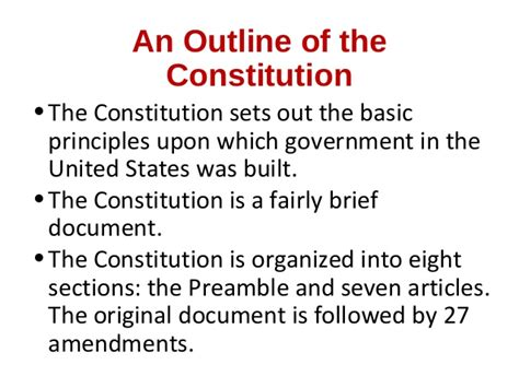 7 sections of the constitution chapters 3 4 constitution and federalism