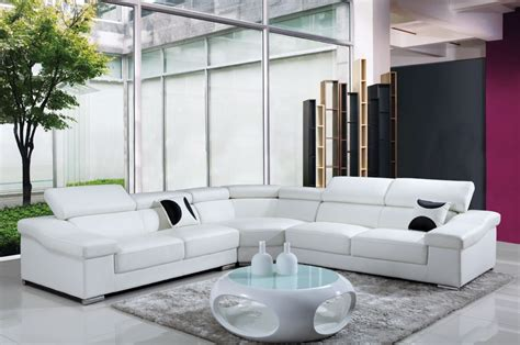 tres grand canape deco in grand canape d angle cuir blanc tetieres