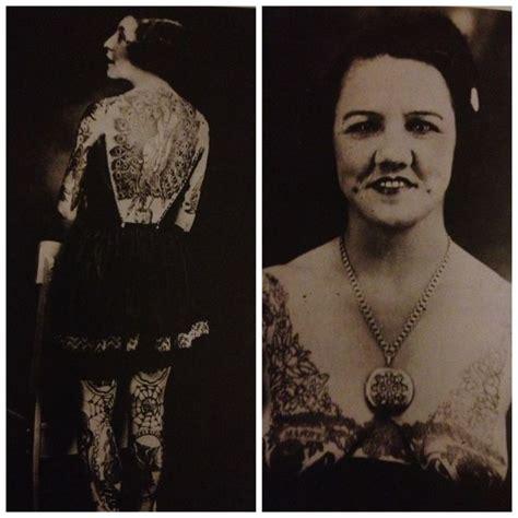 1920s tattoos circus 1920s tattoohistory