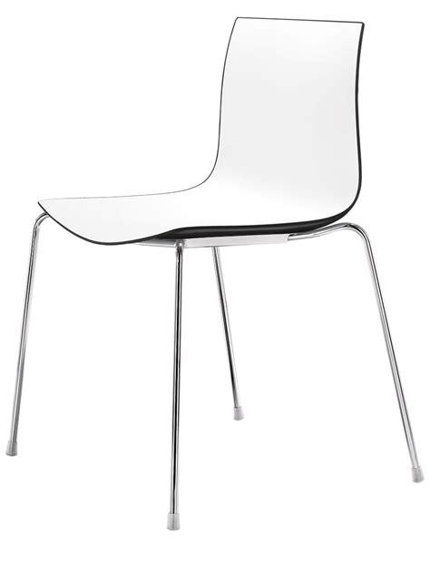 stuhl zweifarbig catifa 46 zweifarbig arper stuhl