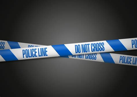 police tape suspected manslaughter at recycling site news