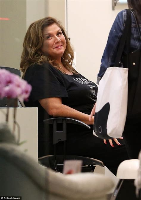 abby lee miller toes abby lee miller treats herself to a pre prison mani pedi