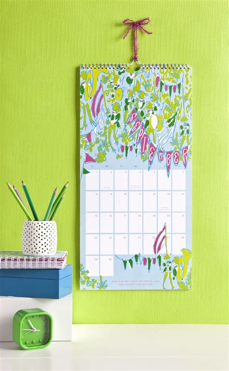 lilly pulitzer desk accessories lilly pulitzer wall calendar is a must for my