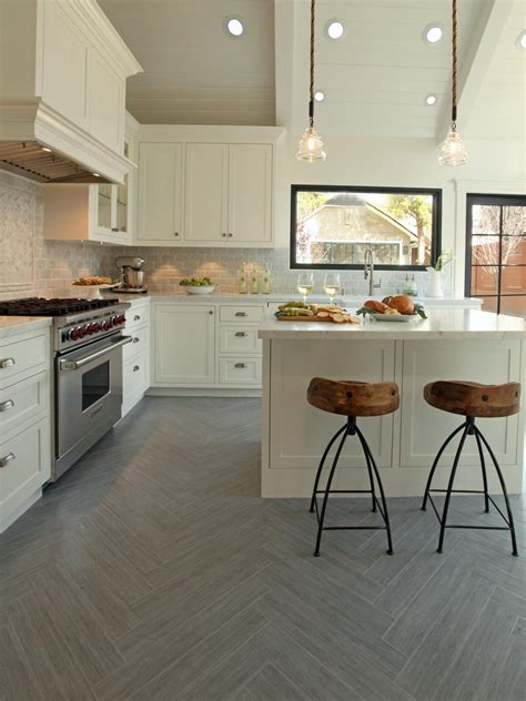 White Kitchen Flooring Ideas Kitchen Flooring Ideas Interior Design Styles And Color Schemes For Home Decorating Hgtv