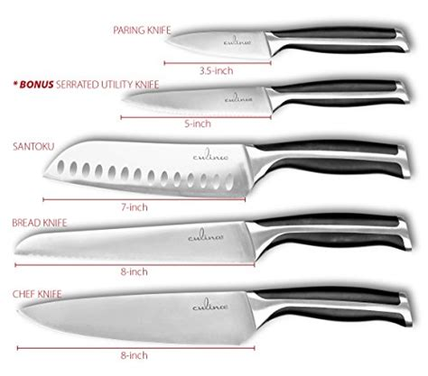culina 174 pro 3 piece forged german steel kitchen knife culina 174 pro 7 piece german steel forged knife set with