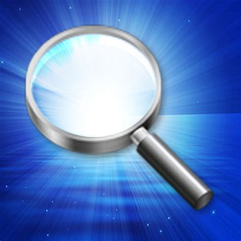 magnifying glass with light iphone app app store apps