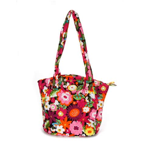 tote bag floral pattern quilted tote bag bright floral pattern