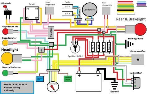 honda cb wiring diagram wiring diagram