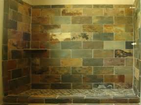 Slate Bathroom Ideas Slate Tile For Shower Walls Home Decor Interior Exterior