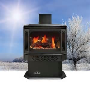 propane freestanding fireplace interior exterior doors