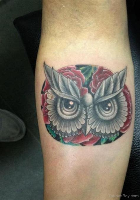 owl face tattoo bird tattoos designs pictures page 41