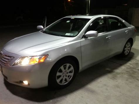 2007 Toyota Camry Fully Loaded Sell Used 2007 Toyota Camry Xle Navigation Warranty