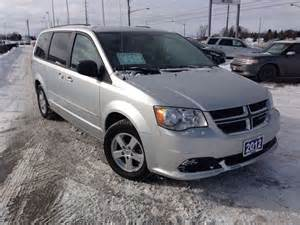 Dodge Caravan 2012 2012 Dodge Grand Caravan Se Barrie Ontario Used Car For