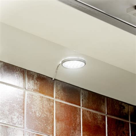 kitchen under cabinet lighting b q it kitchens mains powered cabinet light pack of 3 contemporary under cabinet lighting