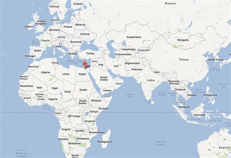cairo on world map cairo map