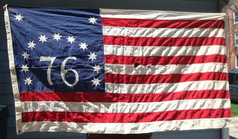 american revolution flag 1776 vintage bennington flag 76 1776 revolutionary