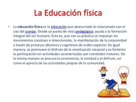 Que Es Un Mba En Educacion by Educacion Fisica