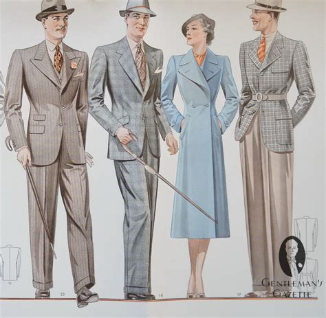 1930s clothing styles hairstyles