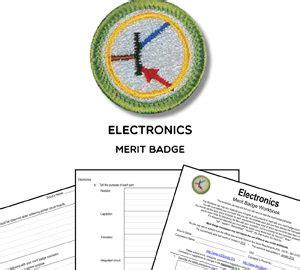 merit badge worksheets  requirements printable