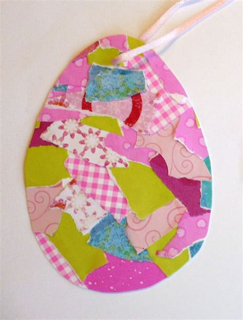 Easter Egg Paper Crafts - clare s craftroom easy easter craft for
