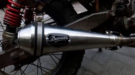 Silincer Japstyle Merk Begundal Cb knalpot japstyle cb modifikasi motor japstyle terbaru
