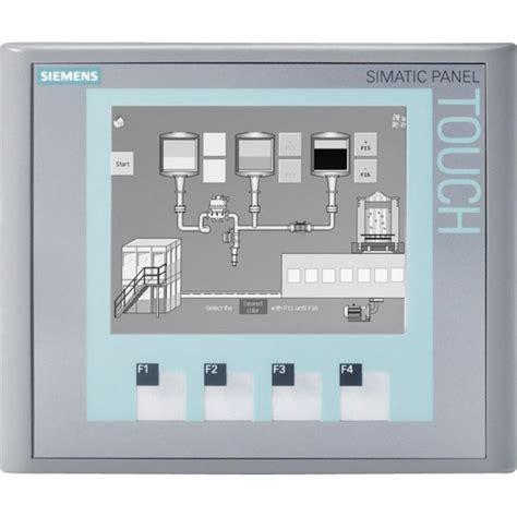 tutorial logo siemens pdf siemens 6av6647 0aa11 3ax0 simatic ktp400 hmi basic panel