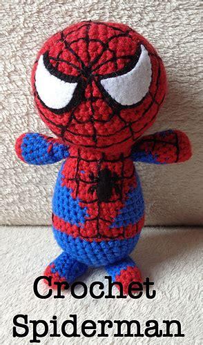 spiderman doll pattern ravelry crochet spiderman amigurumi pattern by joanne lusher
