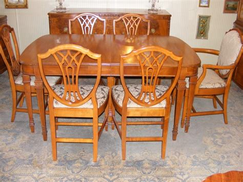 Antique Dining Room Furniture 1930 Antique 1930 S Satinwood Dining Room Suite Ebay