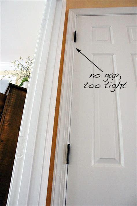 gap door fixing common door problems pretty handy