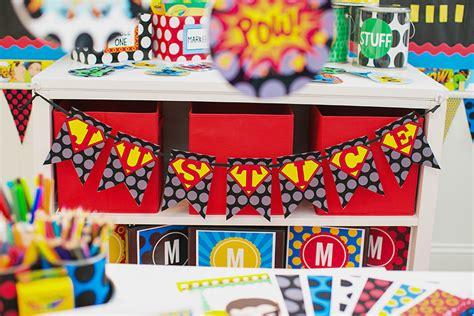 theme based class decoration classroom theme schoolgirlstyle
