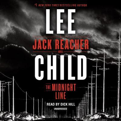 the midnight line jack the midnight line a jack reacher novel compact disc leana s books and more
