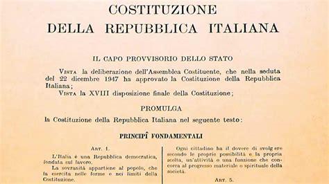 costituzione italiana testo referendum costituzionale la val seriana che dice no
