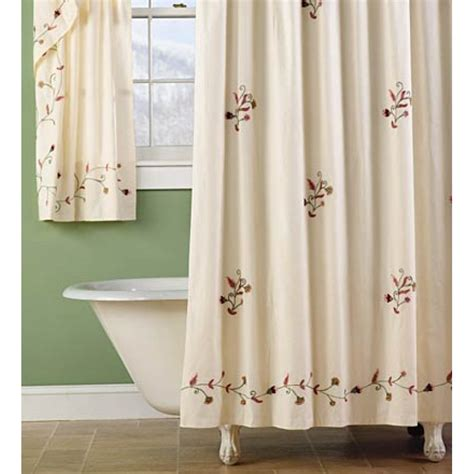 embroidered curtains embroidered shower curtains 01