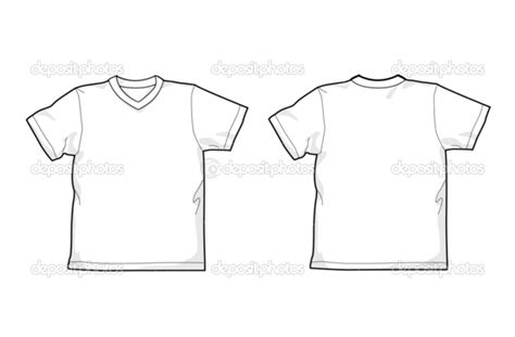 plain white shirt template v neck www pixshark com