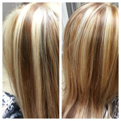 what are good colors to use for highlights and low lights for redhair best 25 heavy blonde highlights ideas on pinterest
