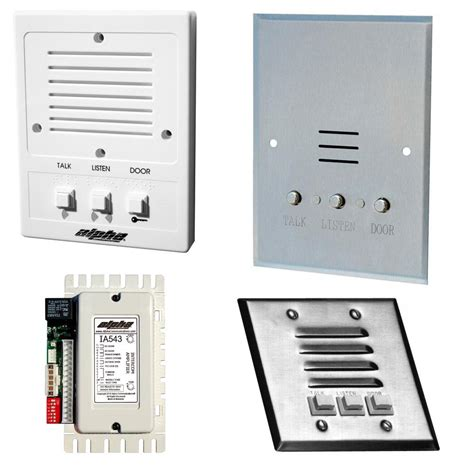 house intercom system alpha communications audio only intercom