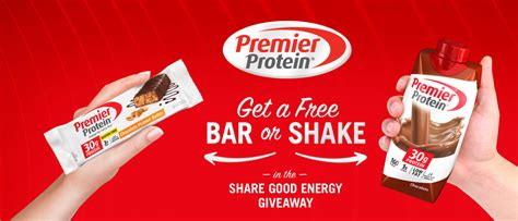 2 protein shakes at once back again free premier protein bar or shake coupon