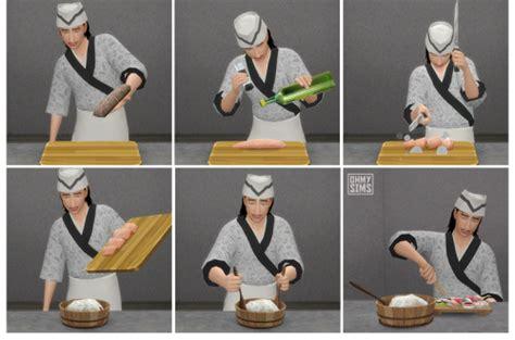 sushi set    sims  sims  updates