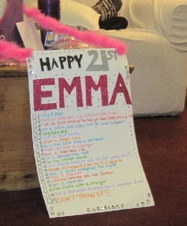 21st birthday themes list summer is a verb annnd she survived