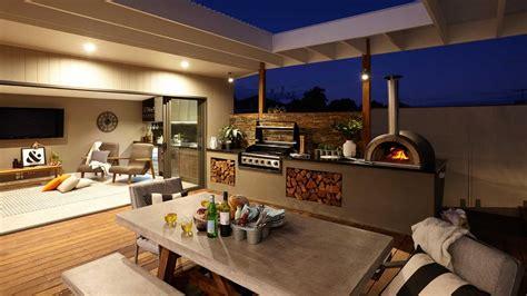 outdoor entertaining areas outdoor entertaining pizza oven grill bunnings balwyn
