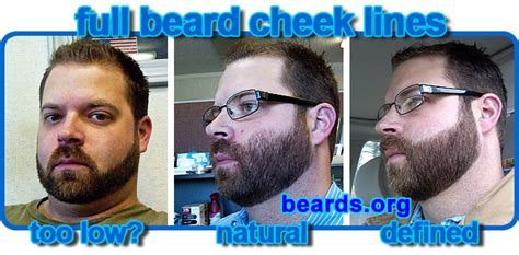 should you shape up your twa choosing a cheek line for your full beard all about beards