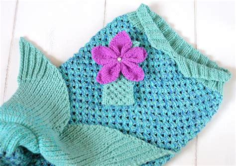 mermaid knitting pattern mermaid snuggle blanket knitting pattern by caroline