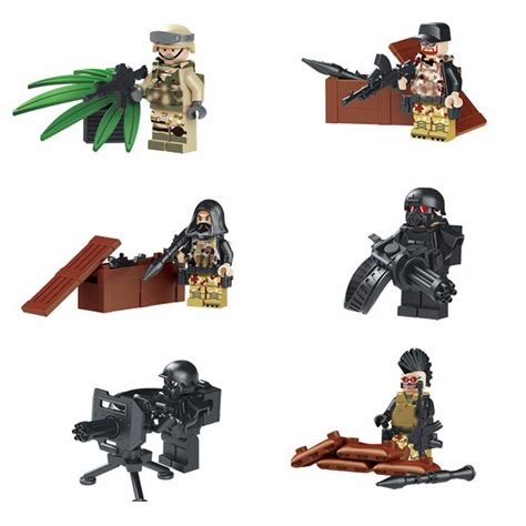 jual lego modern combat merk lele tentara army minifigure