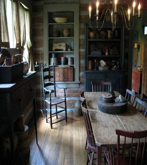top 25 best primitive dining rooms ideas on