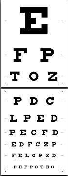 printable eye chart test free 172 best snellen chart images on pinterest eye chart