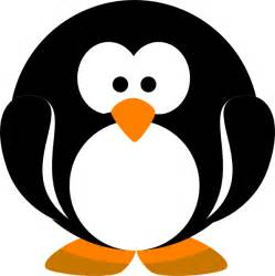 Penguin Clipart Outline by Penguin Clip At Clker Vector Clip Royalty Free Domain