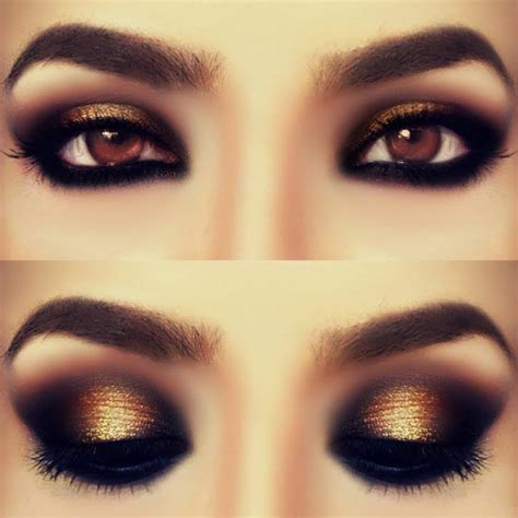 eyeshadow tutorial black girl gold smokey eyes makeup tutorial beautiful shoes
