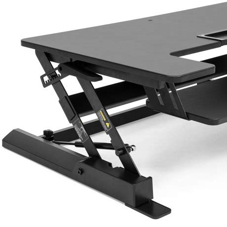 Standing Desk Dual Monitor Riser Sit Stand Workstation by Height Adjustable Standing Desk Dual Monitor Riser Sit