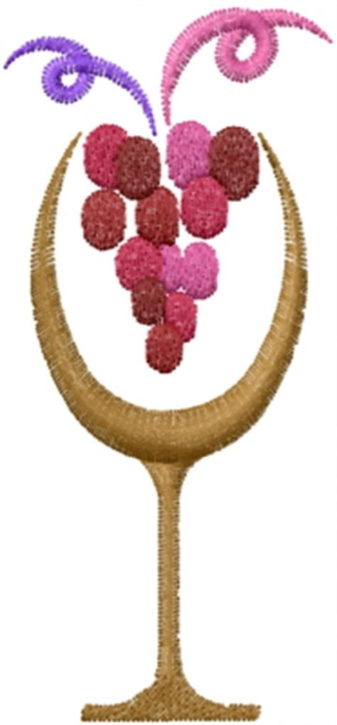 embroidery design wine glass machine embroidery designs embroidery design wine glass