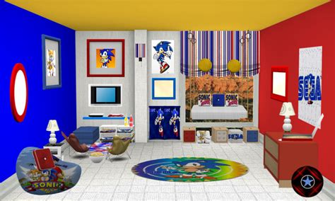 sonic the hedgehog bedroom sonic bedroom sonic fan characters photo 30469467 fanpop